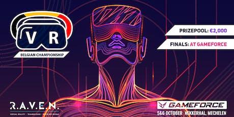Belgian Championship VR Onward & Beat Saber tickets
