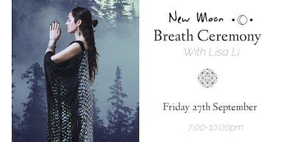 New Moon Breath Ceremony (With Lisa Li)
