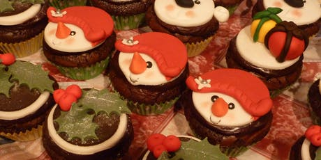Family Learning - Christmas Cupcake Decorating for Kids - Mansfield Woodhouse Library tickets