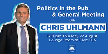 Politics in the Pub with Chris Uhlmann tickets