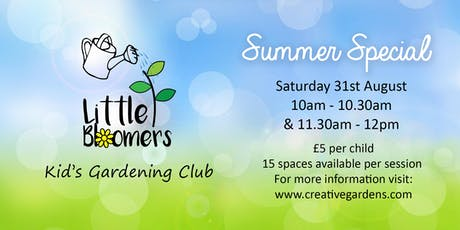 Little Bloomers Kids Gardening Club  tickets