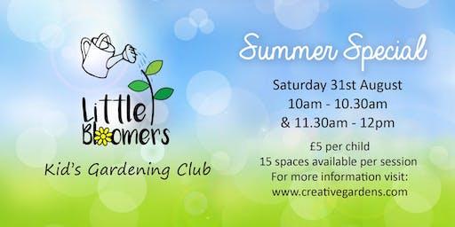 Little Bloomers Kids Gardening Club