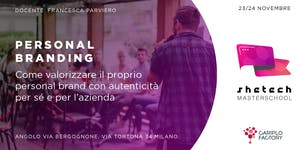 Shetech Masterschool: Personal Branding