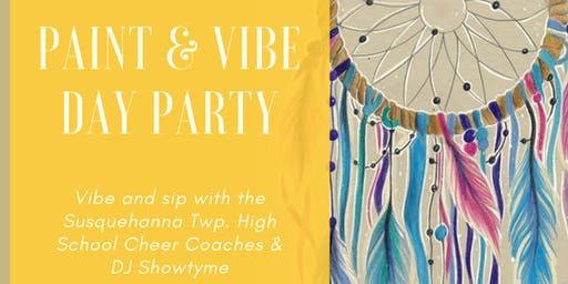 Paint & Vibe Day Party