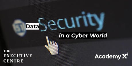 Data Security in a Cyber-World tickets