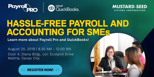 QuickBooks and Payroll Pro Info Session