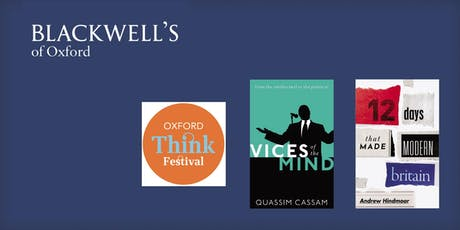 Oxford Think Festival - Saturday tickets