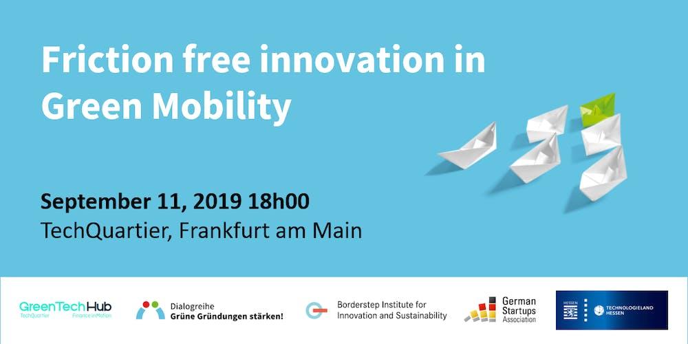 Bildergebnis für Dialogue Event: Grüne Gründungen stärken! Focus: Future Mobility