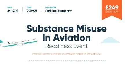 Substance Misuse In Aviation Readiness Event tickets