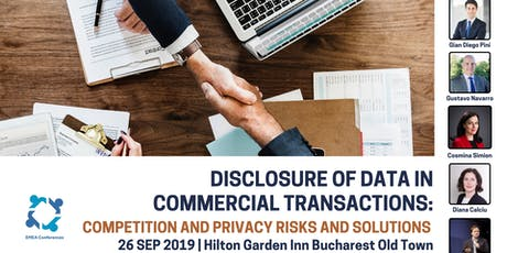 Disclosure of Data in Commercial Transactions: Competition and Privacy Risks and Solutions tickets
