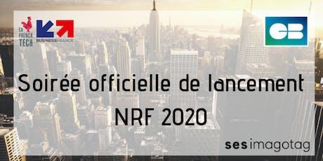 Soirée annonce officielle délégation NRF 2020 billets