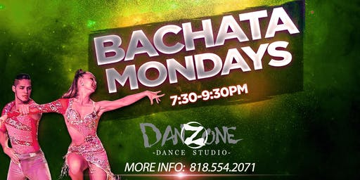 Monday Bachata Lessons with Javier & Katya in San Fernando Valley