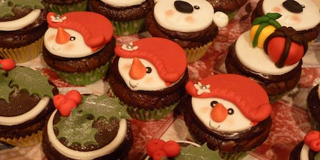 Community Learning - Cupcake Decorations - Christmas - Edwinstowe Library tickets