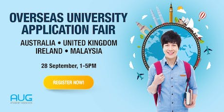Overseas University Application Fair 2019 tickets