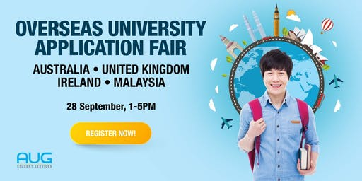 Overseas University Application Fair 2019