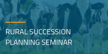 Rural Succession Planning Seminar tickets