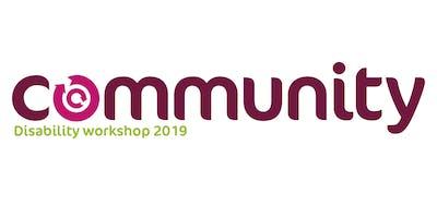 Community's Disability Workshop 2019