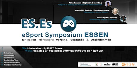 eSport Symposium Essen Tickets