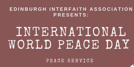 Interfaith Peace Service tickets