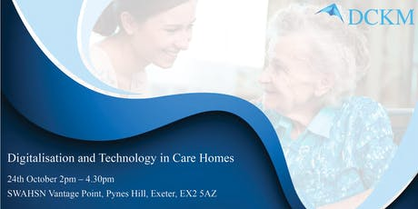 Digitalisation and Technology in Care Homes tickets