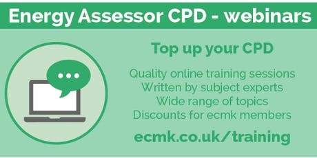SMARTER SURVEYS - an Introduction to the Smart EPC app - CPD Webinar tickets