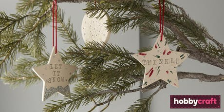 12 Makes of Christmas- Ceramic Decorating in partnership with Together For Short Lives  tickets