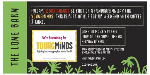 Fundraising day for YoungMinds UK