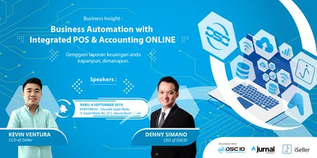 [PAID EVENT] Business Automation with Integrated POS & Accounting ONLINE tickets