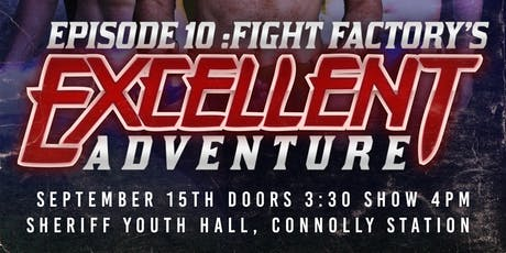 Fight Factory Pro Wrestling - Episode 10 tickets