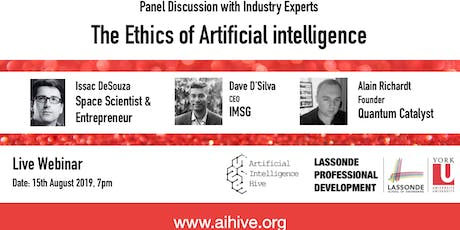 The Ethics of Artificial Intelligence tickets