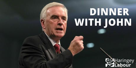 Haringey Labour Dinner with John McDonnell tickets