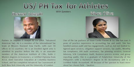 US/ PH Tax for Athletes tickets
