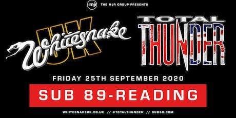 Whitesnake UK + Total Thunder (Sub89, Reading) tickets