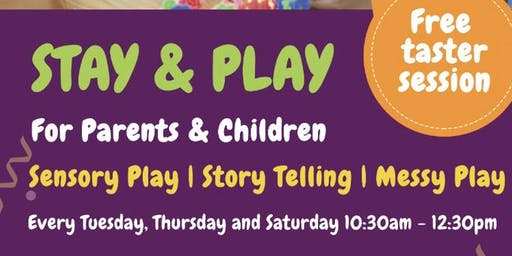 STAY & PLAY GROUP - For Parents and Children (aged 0-3yrs)