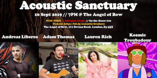 Acoustic Sanctuary: Freshers Special