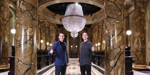 Meet James & Oliver Phelps at an Exclusive Warner Bros. Studio Tour London Event