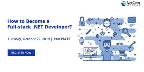 Webinar - How to Become a Full-stack .NET Developer? tickets