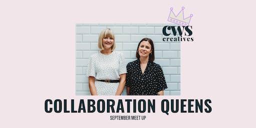 CWS Creatives September Meet Up - Collaboration Queens
