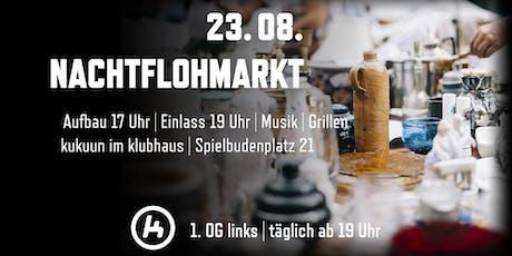 Nachtflohmarkt St. Pauli Tickets