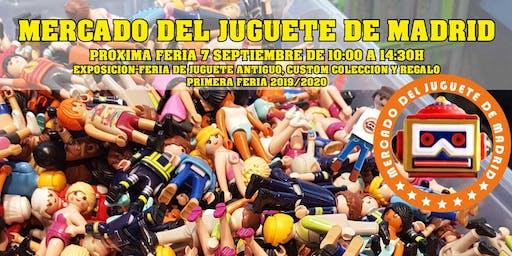 Vuelve el Mercado del Juguete de Madrid al Centro Comercial la Ermita