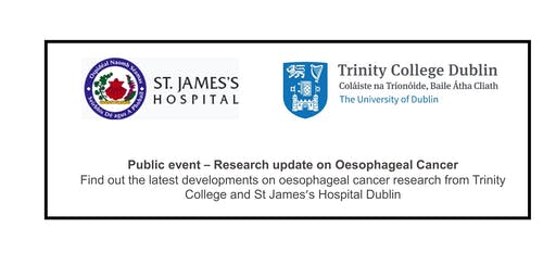 Public event – Research update on Oesophageal Cancer