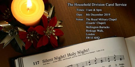 The Household Division Carol Service tickets
