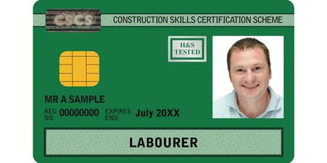 Free Health and Safety certificate and CSCS Card for the unemployed - Nottingham tickets