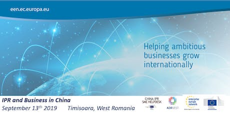 "Seminar ""IPR and Business in China"" tickets"