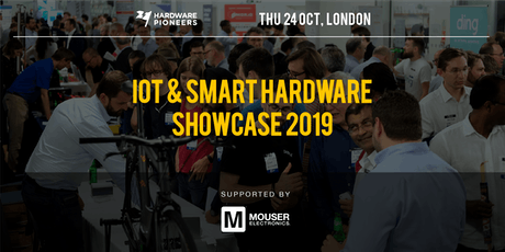 IoT and Smart Hardware Showcase 2019 - Startups and Technology Providers tickets