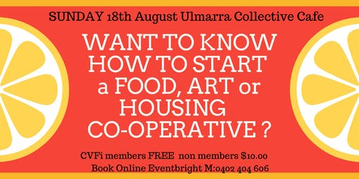 Want To Start A CoOperative?