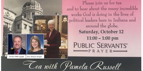 ECBA Tea with Pamela Russell - Indiana State House Women's Ministry Director, Senator Gaskill & Rep. Wright tickets