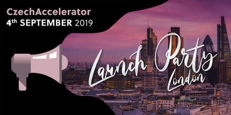 CzechAccelerator Launch Party London tickets