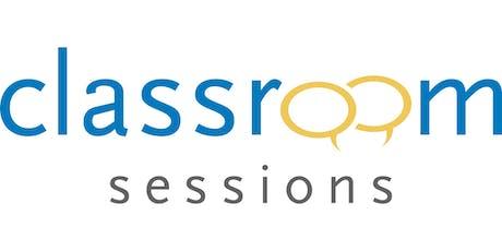 ÖSSUR  CLASSROOM SESSIONS (Israel registration site) tickets