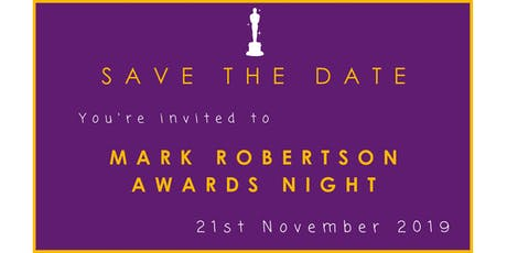 Acacia Learning: Mark Robertson Awards 2019 tickets